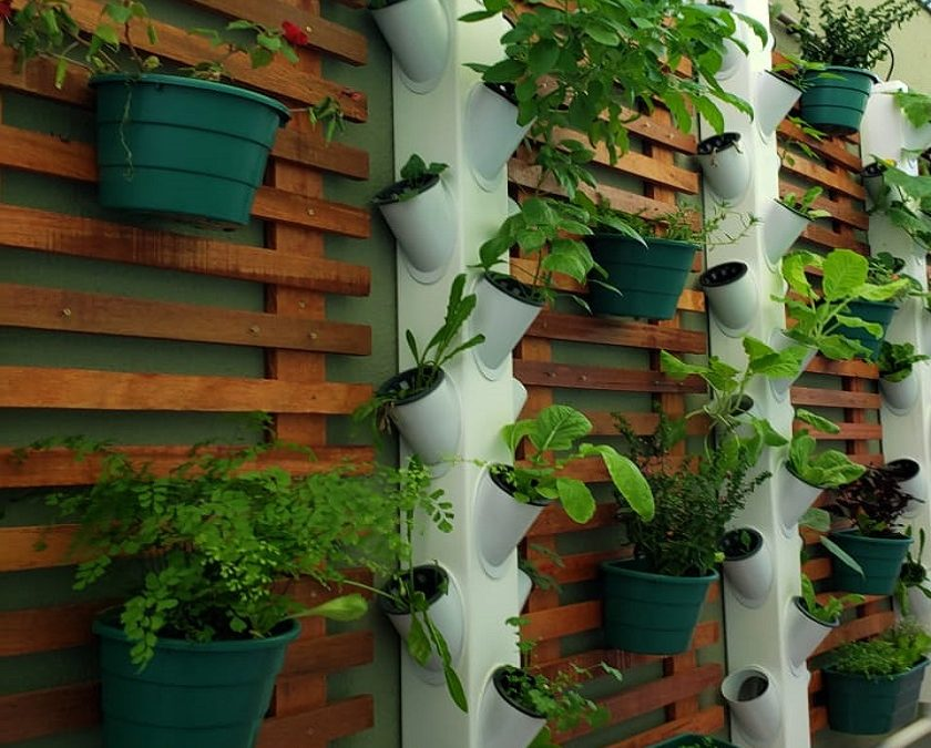 Horta Hidropônica Vertical Hortivinyl Produtos para Hidroponia